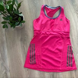 Adidas Hot Pink Work Out Top